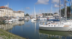 Rochefort, le port de plaisance